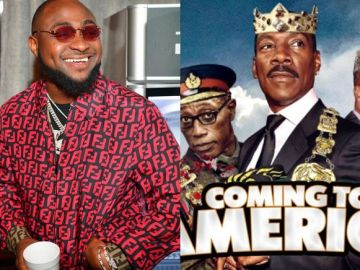 "Good News For Davido And Fans As He Is Set To Feature In Hollywood Movie ""Coming To America"""