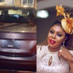 VIDEO: Afia Schwar Adds Brand New Mercedes Benz To Her 2 Newly Acquired Cars