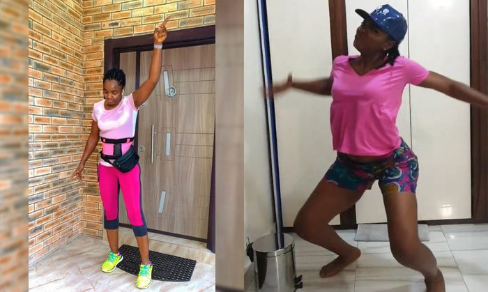 VIDEO: Nollywood Actress, Chioma Akpotha, Ends Up With Severe Waistpains After Engaging In Vigorous Twerking Moves