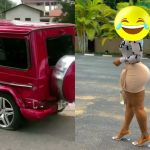 VIDEO: Ghanaian Guy In Debt After Crashing A G-Wagon Car He Rented To Impress A Girl At Legon