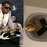 VIDEO: Kanye West Goes Haywire And Pisses On His Grammy Award─The Dream Of Sarkodie, Wale, Stonebwoy, And Others