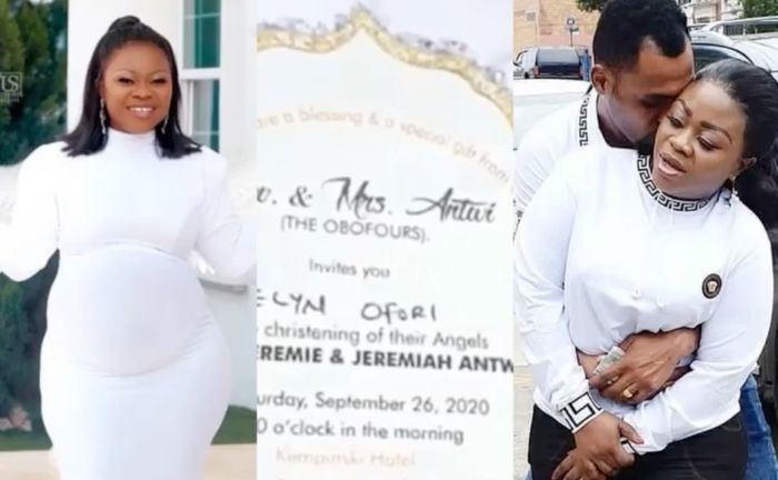 VIDEO: Reverend Obofour And Wife, Bofowaa, To Hold A Lavish Naming Ceremony For Their Triplets At Kempinski