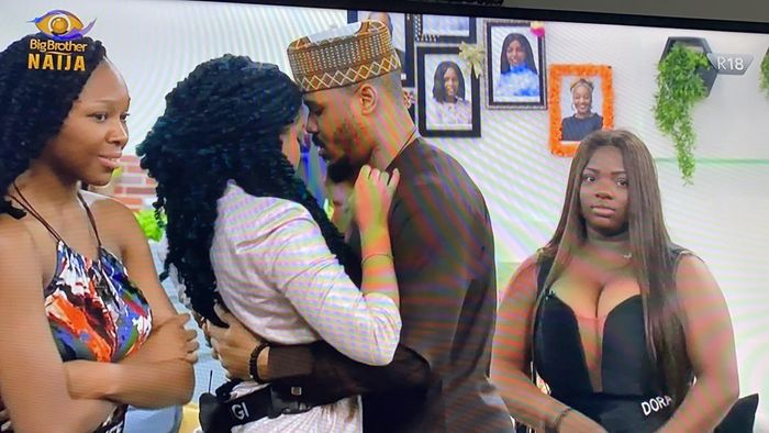 BBNaija2020: Ozo Has Been Evicted, He Wanted To Kiss Nengi Before Leaving But She Refused