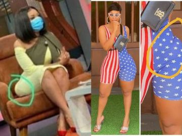 PHOTO: As It Happened To Serwaa Amihere On Live TV, Benedicta Gafah Also Got Her Big Hip-pad Shifted