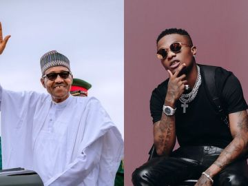 Wizkid Angrily Blasts President Buhari For Wishing Donald Trump And His Wife Speedy Recovery From Covid-19