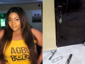 Armed Robbers Attack Gospel Musician, Celestine Donkor And Her Family