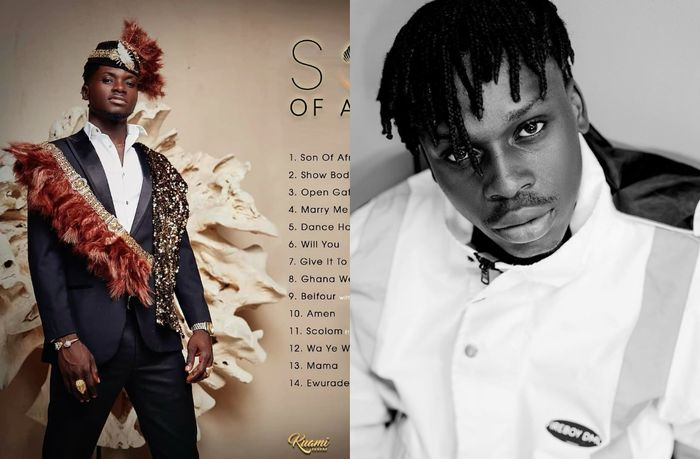 "VIDEO: Kuami Eugene Busted For Copying Fireboy DML's ""What If I Say"" To His ""Son Of Africa"" Album"
