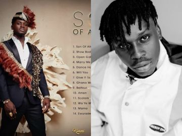 """VIDEO: Kuami Eugene Busted For Copying Fireboy DML's """"What If I Say� To His """"Son Of Africa� Album"""