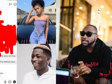 Davido Terminates Contract Of His Newly Signed Artist, Lil Frosh, After He Was Accused Of Beating His Girlfriend