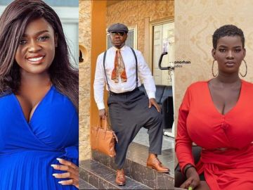 VIDEO: Nana Aba's Baby Daddy, Osebo, Says He'll Never Consider Dating Tracey Boakye, Akuapem Poloo And Pamela Odame