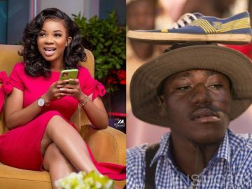 "Do You Think It's ""National Wig and Makeup Quiz""? - Fan Replies Serwaa Amihere After Expressing Shock At Questions Being Asked At The 2020 NSMQ"