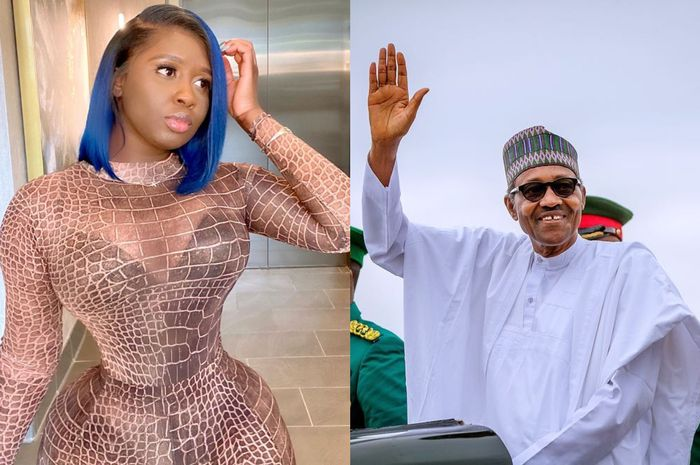 #EndSARS: Princess Shyngle Says President Buhari Is An Animal, Idiot, A*shole And Evil Son of the B*tch
