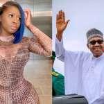 #EndSARS: Princess Shyngle Says President Buhari Is An Animal, Idiot, A*shole And Evil Son of the B*tch
