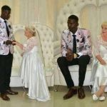 PHOTOS: Old White Woman Marries Black Man Younger Enough To Be Her Great-grandson