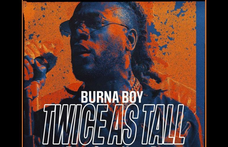 """Burna Boy's """"Twice As Tall"""" Album Nominated For 2021 Grammy Awards"""