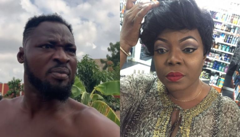 VIDEOS: Funny Face Rains Insults On Maame Yeboah Asiedu And Claims She Pimps Young Ladies To Old Rich Men