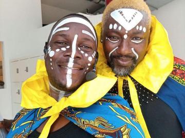 PHOTO: Nigerian Gay Pastor, Jide Macaulay, Meets Kenyan Gay Muslim