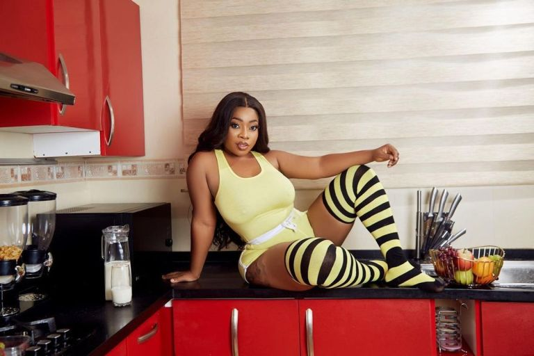 PHOTO: Complications From Butt Enlargement Surgery Has Finally Knocked On Moesha Buduong's Door