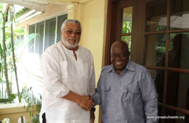 """Ghana Is Poorer For This Loss"" - President Akufo-Addo On Rawlings' Death"