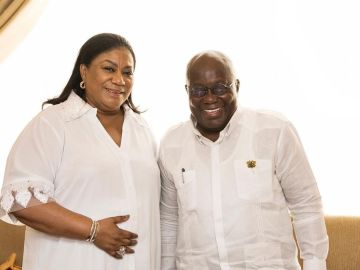 "First Lady, Rebecca Akufo-Addo, Commits ""Mother Serpent Of Corruption"", President Akufo-Addo, Into God's Hands Ahead Of The 2020 Elections"