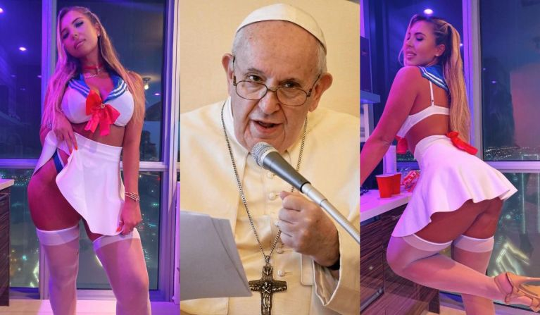 The Internet Is Boiling After Pope Francis' Instagram Account Liked Bikini Photo Of A Model