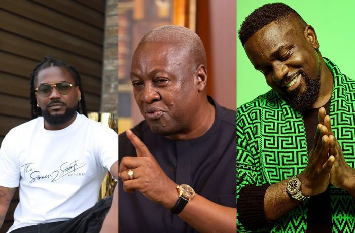 VIDEO: John Mahama Has Reacted To Sarkodie And Samini Endorsing President Akufo-Addo Ahead Of 2020 Election
