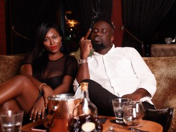 Tracy Sarkcess Is Obviously Very Proud That Her Husband, Sarkodie, Now Smokes