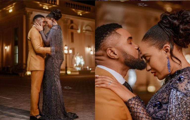 Actor Williams Uchemba's Wife, Brunella Oscar, Reveals How She Met Him