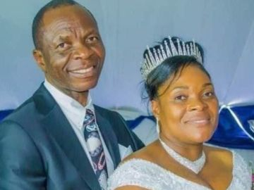 PHOTOS: Pastor Marries His Secretary 4 Months After His Wife's Death