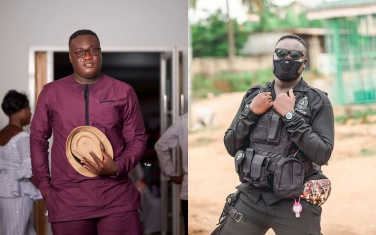 Handsome Ghanaian Policeman Dies After His Rifle Accidentally Discharged 2 Bullets Into His Abdomen