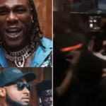 Watch The Real Video Of Davido And Burna Boy Exchanging Blows Inside Twist Nightclub