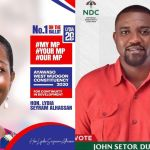 2020 Elections: John Dumelo Relies On God For Victory Over Lydia Alhassan