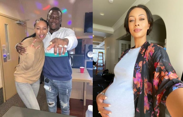 Keri Hilson Reacts To Rumours Of Her 7 Months Old Pregnancy After Collaborating With Stonebwoy