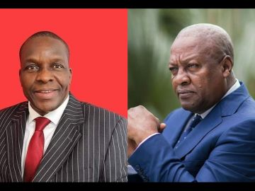 John Mahama Congratulates Alban Bagbin And Condemns Carlos Ahenkorah For Snatching Ballot Papers In Parliament