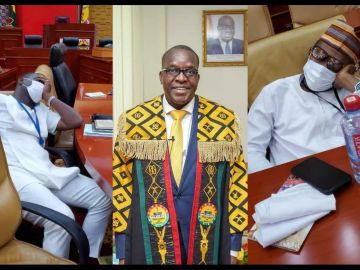 NPP MPs Jubilate As Speaker Of Parliament, Alban Bagbin, Declares Them As Majority Party In Parliament