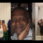 The Exact Location Where Dangote And His Ex-girlfriend, Bea Lewis, Met For The First Time Revealed