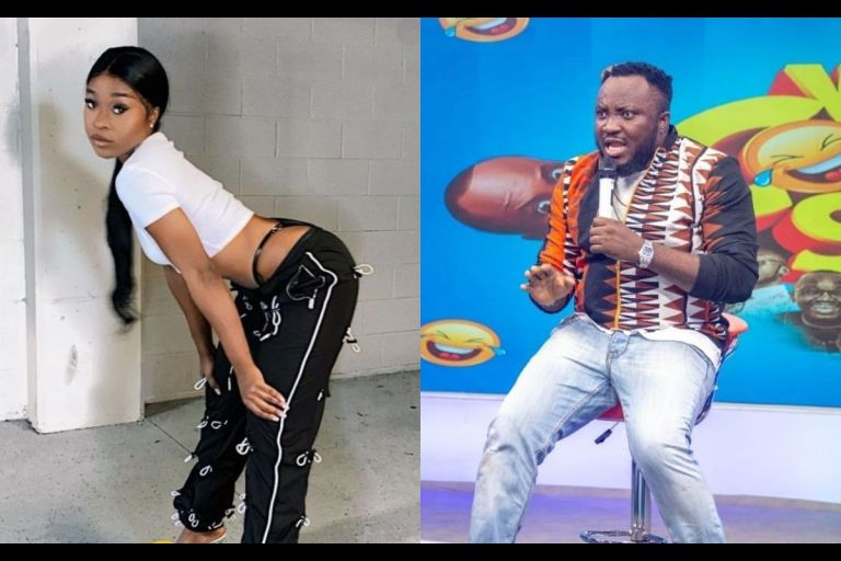 DKB Tells Radio Presenter To Tarnish Efia Odo's Image Forgetting That She Has No Image To Protect