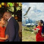 PHOTOS: Kenyan Businessman Hires A Chopper To Propose To His Girlfriend