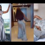 VIDEO: In The Name Slaying And Photoshoot, Fella Makafui Slipped And Nearly Broke Her Ankle