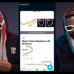 PHOTOS: Medikal Spends A Whopping $61,135 On A Miami Cuban Necklace
