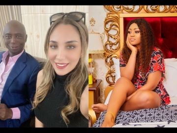 Regina Daniels' Husband, Ned Nwoko, Replies A Kenyan Woman Who Advised Him To Stop Marry Young Ladies