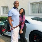 PHOTO: 21st Century King Solomon, Ned Nwoko, Grabs And Poses With A Young Pretty Lady On An Expensive Sports Car