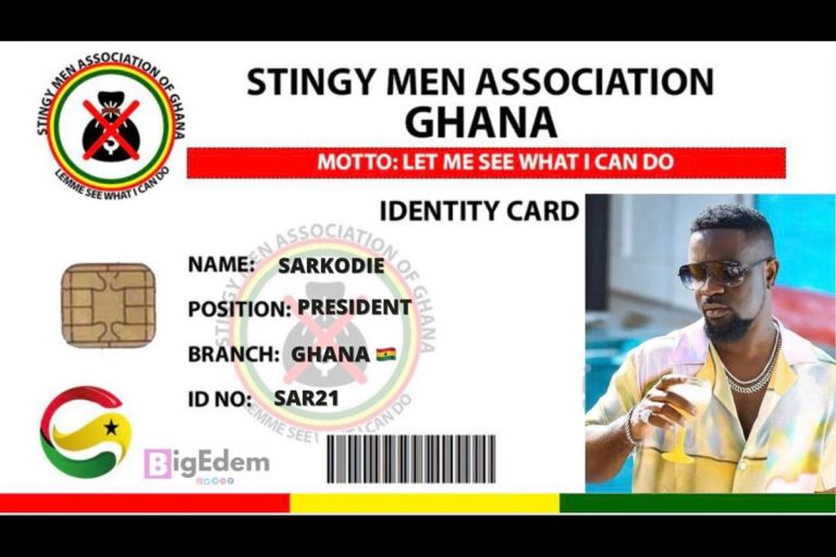 "Tracy Sarkcess Should Close Her Legs As Sarkodie Officially Joins The ""Stingy Men Association of Ghana"""