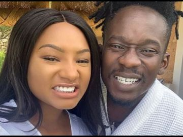 VIDEO: Mr Eazi's Rich Girlfriend, Temi Otedola, Celebrates 4 Years Of Relationship With Him
