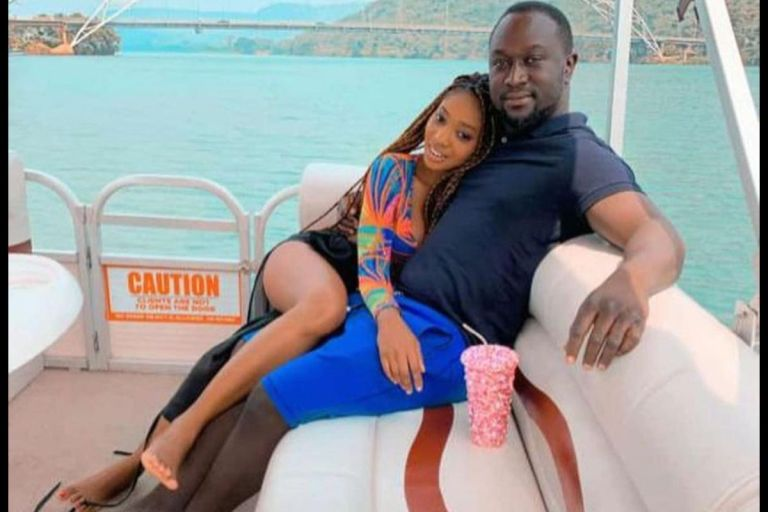 PHOTOS: Lynx Entertainment Boss, Richie Mensah, Shows Off His 'Girlfriend' On Val's Day