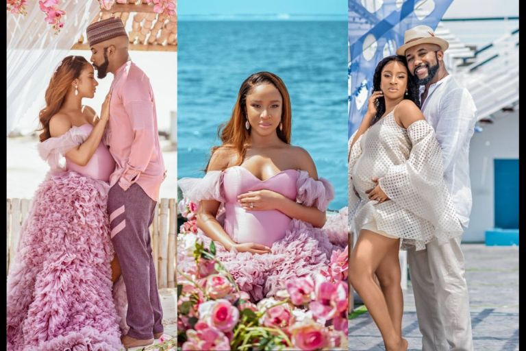 PHOTOS: Banky Wellington And His Wife, Adesua Etomi, Welcome Their First Child 3 Years After Marriage
