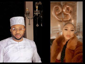 Tonto Dikeh's Ex-Husband, Olakunle Churchill, Marries Actress Rosy Meurer