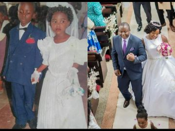 Couple Who Featured As A Husband And Wife In A Primary 2 Drama Weds In 2021