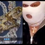 VIDEOS: Medikal's $61k Cuban Link Chain Successfully Delivered?