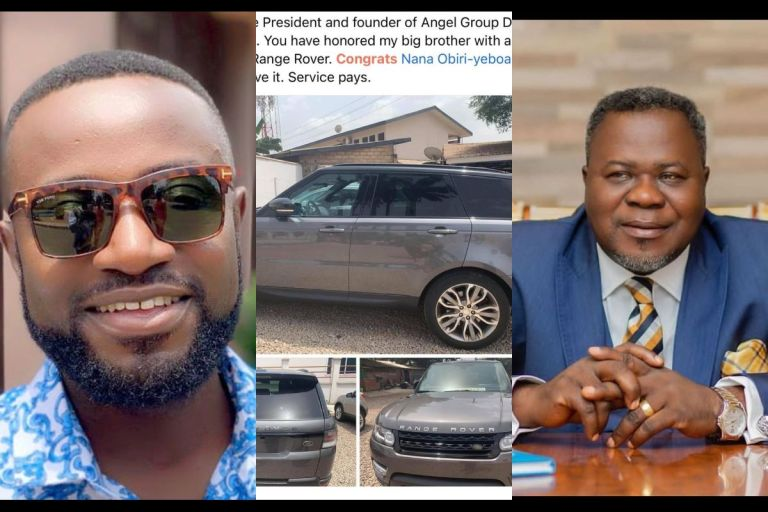 Dr Kwaku Oteng Dashes 2018 Range Rover To One Of His Radio Presenters